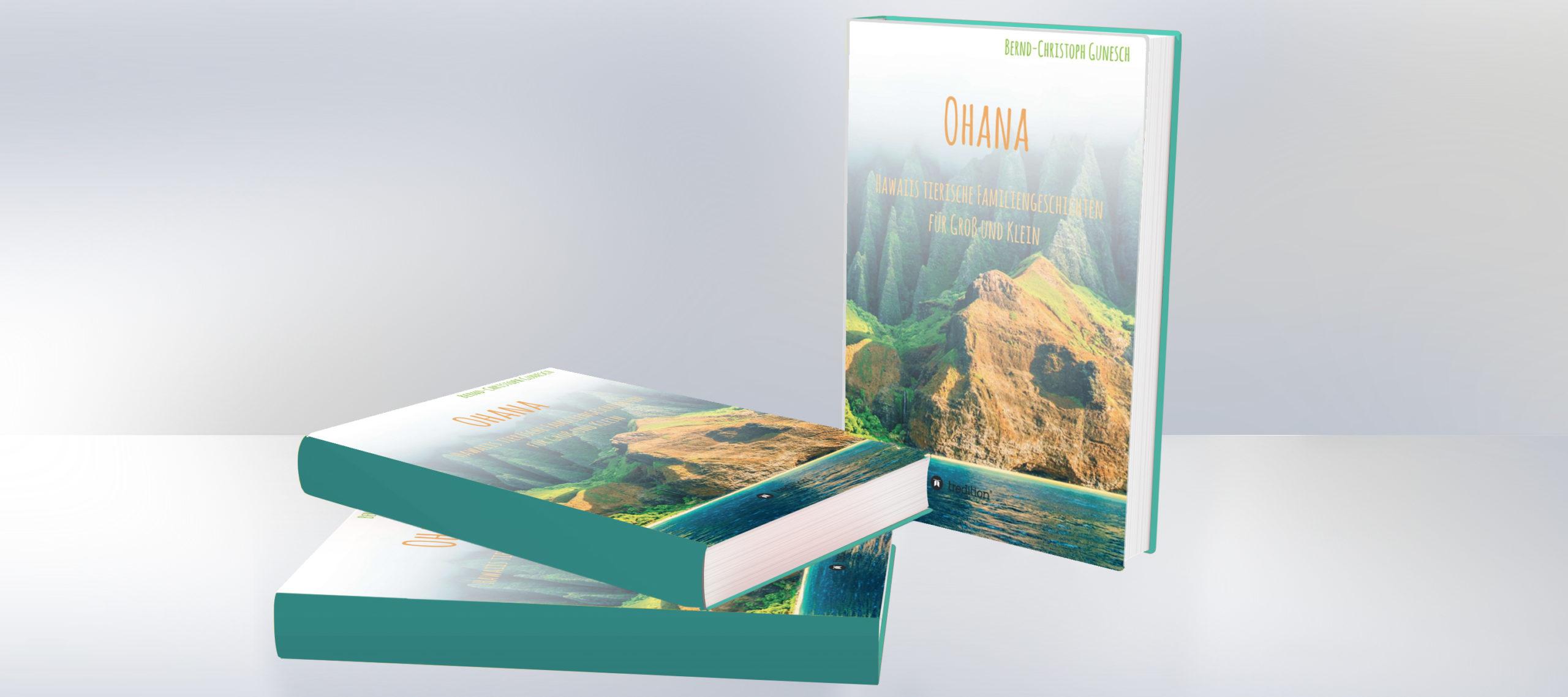 Buch-Tipp: Ohana – Hawaiis tierische Familiengeschichten für Groß und Klein