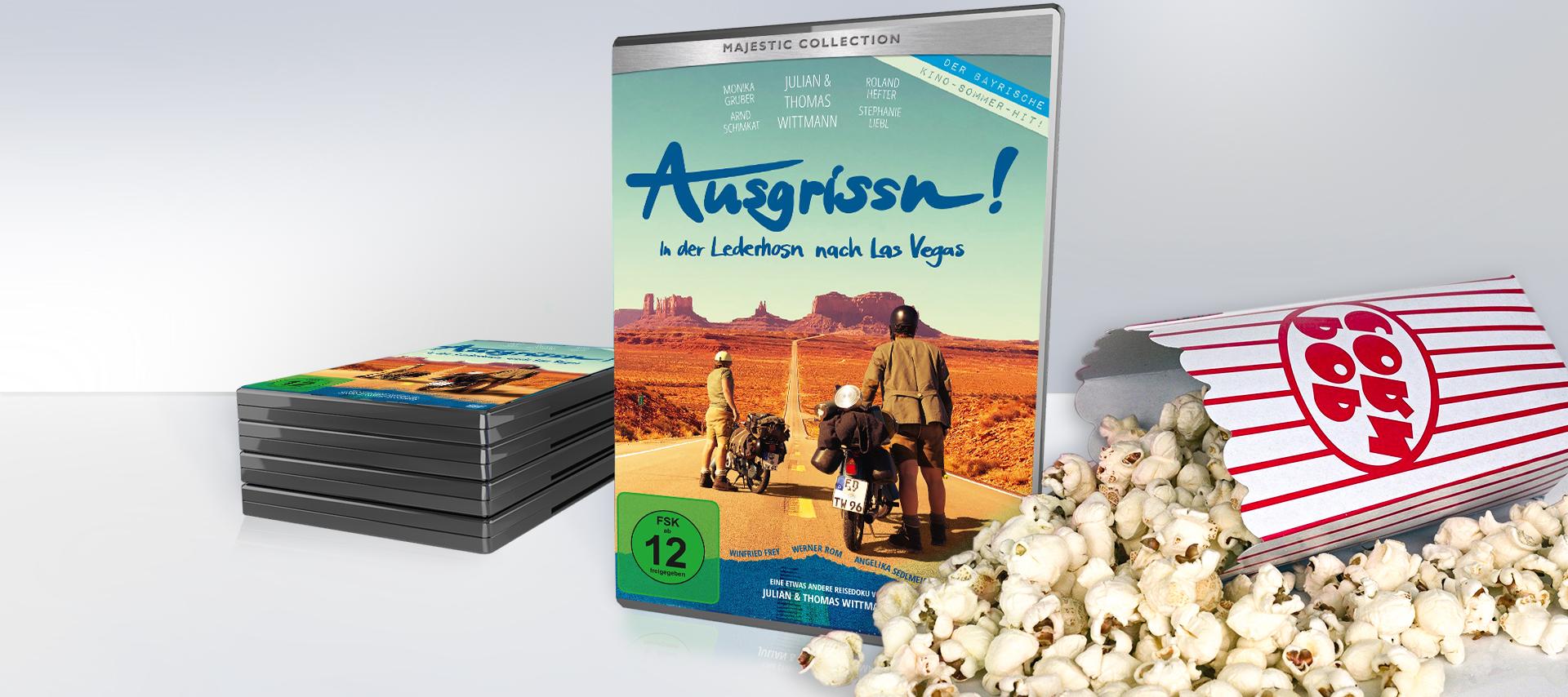 DVD-Tipp: Ausgrissn! In der Lederhosn nach Las Vegas