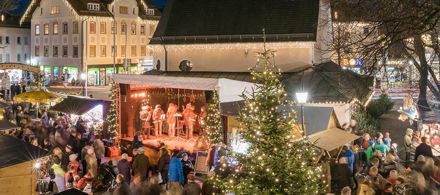 """Staade Zeit"" in Prien: Christkindlmarkt ersatzlos abgesagt"