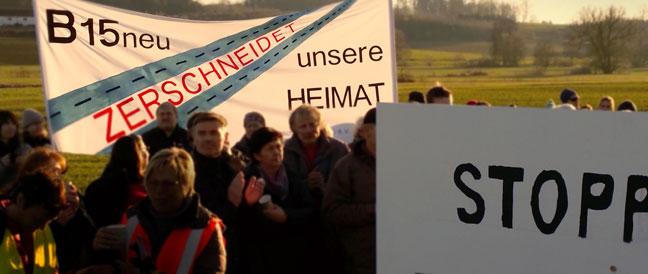 B 15 neu – eines der 12 unsinnigsten Fernstraßenprojekte Deutschlands