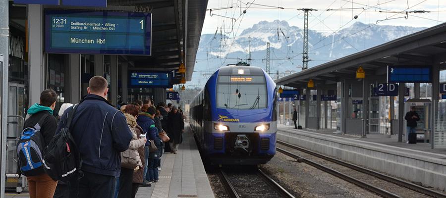 Kein Zugverkehr nach Tirol im Netz Chiemgau-Inntal