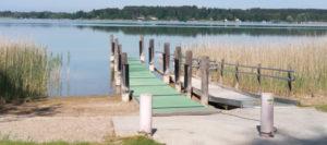 Simssee: Badespaß für Menschen mit Handicap