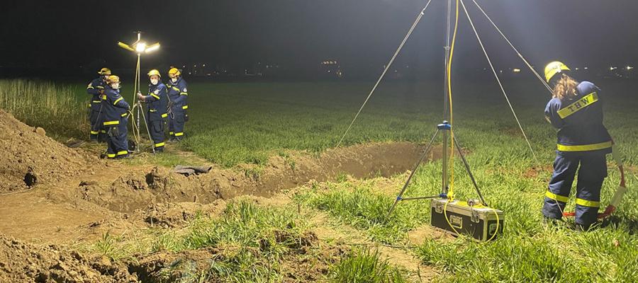 Größte Evakuierungsaktion im Landkreis Mühldorf:Fliegerbombe erfolgreich entschärft