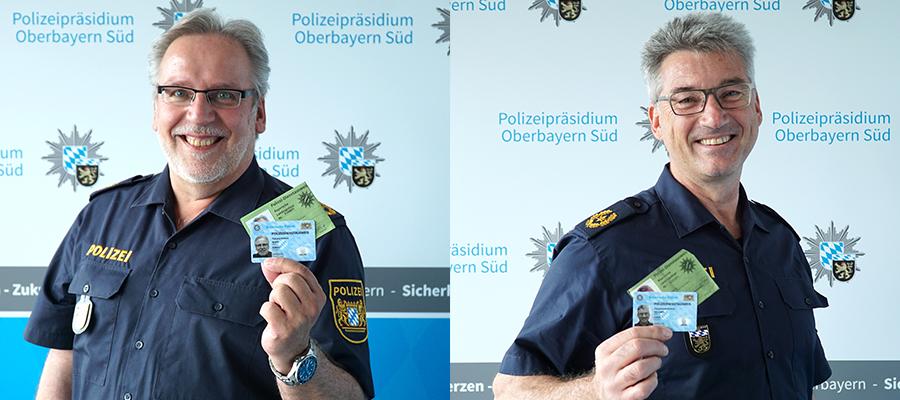 Neue Dienstausweise der Bayerischen Polizei – so sehen sie aus!