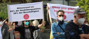 """Initiative """"Wir stehen zusammen"""" fordert Betriebsöffnungen – Dettendorfer: """"Viele brauchen bereits ihre Altersvorsorge auf"""""""
