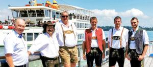 Neue Führerscheine für Chiemsee-Kapitäne