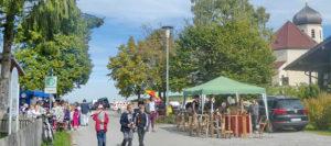 Herbstmarkt am Kirchweihsonntag in Wildenwart