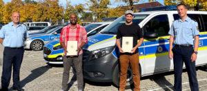 """Polizeidirektor Otto: """"Dieses beispielhafte Engagement verdient Respekt!"""""""