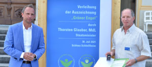 """Heinz-Jürgen Pohl ist jetzt auch """"Grüner Engel"""""""