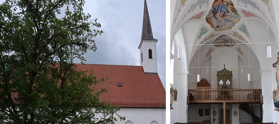 Die Katharinenkirche in Mühldorf ist wieder geöffnet