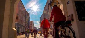 Mantelsonntag und Markt in Rosenheim